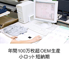 縫製工場ミヤモリの年間100万枚超OEM生産 小ロット短納期